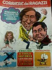 Il Corriere dei Ragazzi 9 1972 De Dorigo di S. TOPPI