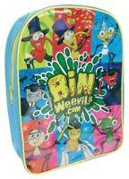 Bin Weevils Pvc Front School Bag Rucksack Backpack Brand New Gift