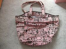 Soap & Glory Large Beach Bag Tote Weekend Holdall Shopper - NEW & Unused