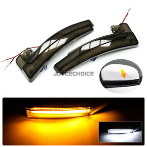2X LED Dynamic Side Mirror Sequential Light For Jeep Compass 2017-20 Cherokee KL