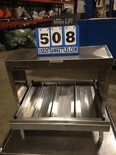 "MERCO ALCO 24"" WIDE SLANT FRONT HOT FOOD MERCHANDISER TOP BOTTOM HEAT  (#508)"