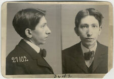 Photo Bertillon identification Policière Police Mug Shot Usa 1903