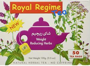 Royal Regime Tea Weight Reducing Herbs (Pack of 50 Bags)