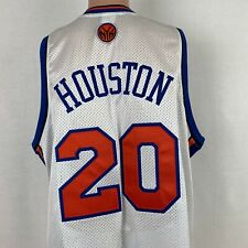 Reebok Authentic Allan Houston New York Knicks Jersey NBA Basketball Size 48