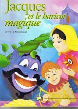 Jacques et Le Haricot Magique * Conte GRMM * LLC * album rigide enfant
