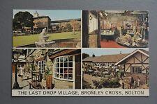 R&L Postcard: Last Drop Village Bromley Cross Bolton, ETW Dennis