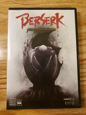 Berserk: The Golden Age Arc - The Movie Collection (DVD, 2016, 3-Disc Set) USED
