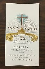 "{BJ Stamps} VATICAN CITY, ""1950 Holy Year"" cover, 1949, #132-139 set of 8."