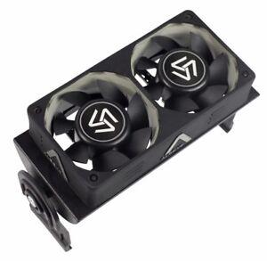 RAM cooler cooling fan ram memory cooler with dual 60mm fan PWM 1500-4000RPM
