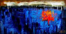 "Custom ART - Original Modern Painting by S.Lazo – MADE TO ORDER - 24"" x 48"""