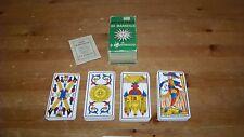 Vintage Tarot Card Deck Tarot of Marseilles B.P. Grimaud 78 cards