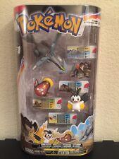 New Pokemon 4 Figure Pack Series 1 Terrakion Emolga Stunfisk Kyurem Pokedex ID
