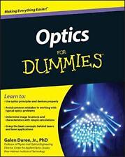 Optiques For Dummies (For (Lifestyles Livre de Poche )) par Galen c. Duree Jr.
