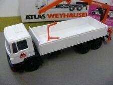 1/50 Conrad Atlas Weyhausen MAN 72000 Pritsche mit Ladekran
