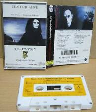 DEAD OR ALIVE/Pete Burns JAPANESE CASSETTE Mad, Bad And Dangerous To Know RARE!!