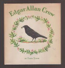 RARE 1953 VG HC dj 1st ED Oxford University Press Tasha Tudor Edgar Allan Crow
