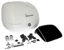 Topcase D'orogine Piaggio Blanc ( Montebianco 544 )  Pour Vespa GTS 125/300