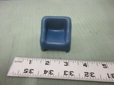 Vintage 1973 Hasbro Weebles Part Furniture Couch Chair Blue Cushion Haunted Toy