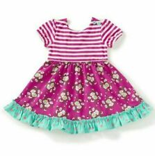 Matilda Jane Call You Sweetheart Dress Ruffles Stripe Daydream Girls Size 12