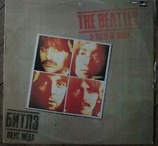Russian Soviet Record Disc THE BEATLES A Taste of Honey Битлы