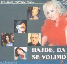 HAJDE DA SE VOLIMO 4 Za sva vremena CD Ceca Dzej Lepa Brena Dragana Mirkovic Hit