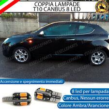 COPPIA LAMPADE FRECCE LED LATERALI ALFA ROMEO MITO CANBUS NO ERRORE