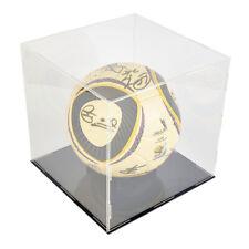 25x25x25cm Acrylic Soccer Football Display Box Cases