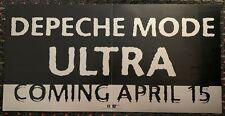 Depeche Mode Ultra 12x24 record store advance promo poster Mute Reprise 1997