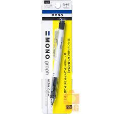 Tombow Mono Graph Shaker Mechanical Pencil - 0.5 mm - WHITE DPA-134
