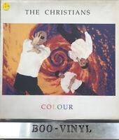 The Christians – Colour  Vinyl LP    Island Records – ILPS 9948 Ex / Vg+ Con