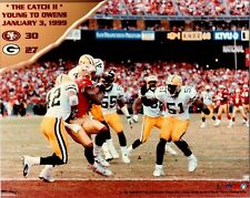 Terrel Owens 49ers The Catch 2 8x10 Color Photofile