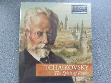 TCHAIKOVSKY - THE SPIRIT OF RUSSIA - CD - BOOK CASE WITH BOOKLET (NEW SEALED)