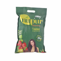 1kg Godrej NUPUR HENNA  with 9 HERBS Natural Hair Dye Color & Conditioning