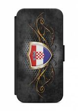 iPhone Kroatien Hrvatska 5 Flip Tasche  Hülle Case Cover Schutz Handyhülle
