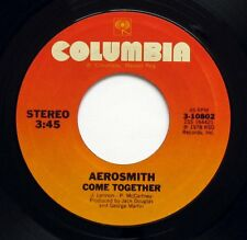 "AEROSMITH STEVEN TYLER COME TOGETHER KINGS AND QUEENS ORIG 1978 7"" 45RPM EX+/NM"