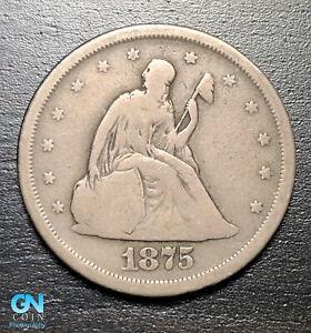 1875 S 20 Cent Piece  --  MAKE US AN OFFER!  #B6916