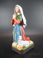 Holy Bernadette of Lourdes, 7 7/8In Poly Figure Religion, Articles Religiosi