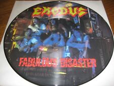Esodo-Fabulous Disaster Picture-LP, Music for Nations UK 1989, MOLTO RARO, NUOVO/NEW!!!