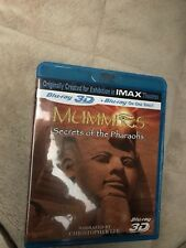 Mummies: Secrets of the Pharaohs [Blu-ray 3D] by Christopher Lee