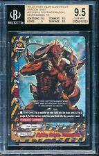 Future Card BuddyFight BGS 9.5 Gem Mint Graded Fighting Dragon Demongodol RR