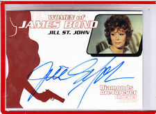 2002 WOMEN OF JAMES BOND JILL ST JOHN AS TIFFANY CASE WA 1 AUTOGRAPH AUTO