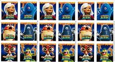3 Sheets Monsters Vs Aliens Scrapbook Stickers