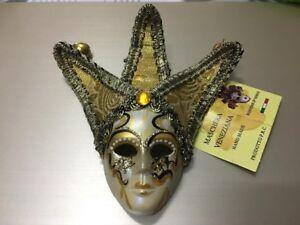 Venetian Carnival Mask Wall Art Magnet Maschera del Galeone Venice suvornir
