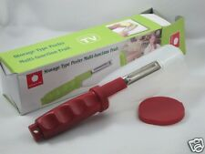 NEW Storage Type Multi-Function Peeler-Similar to As Seen On TV-Red Lid