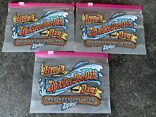 3 X Splash Mountain Ziploc Bag - Disneyworld Florida -