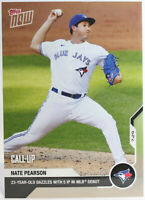 Nate Pearson Toronto Blue Jays MLB Debut Card 2020 Topps Now #29