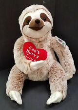 """Kellytoy 22 inch """"Can't Hurry Love"""" Sloth - So Soft - Perfect Valentine Gift!"""