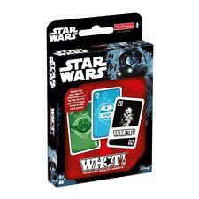 STAR Wars quali! forma & numero corrispondente Bambini Famiglia Gioco di carte di viaggio
