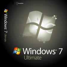 Microsoft Windows 7 Ultimate de 32/64 bits de MS clave de activación Versión Completa Win 7 Ult
