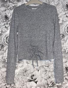 Girls Age 13-14 Years - Grey Matalan Long Sleeved Top - Jersey Material